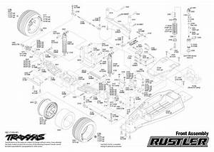 Cars  U0026 Trucks - Replacement Parts - Traxxas Parts - Electric - Rustler