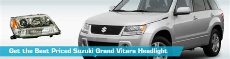 suzuki grand vitara headlight headlights crash