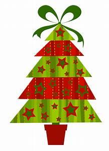 Modern Christmas Tree Clipart