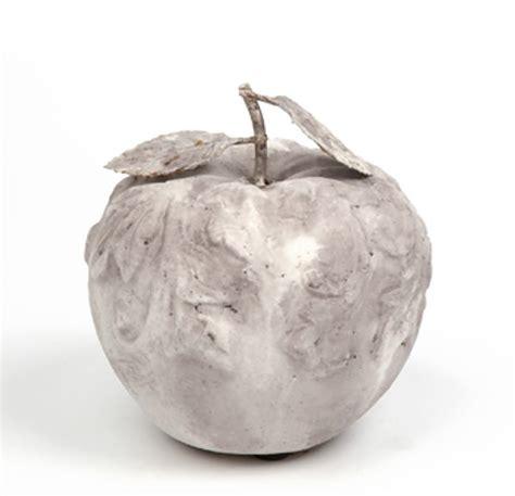decoration cuisine fruit pomme décorative en terre cuite objets de