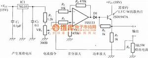 constant current power supply circuit with the operational With constant current power amplifier