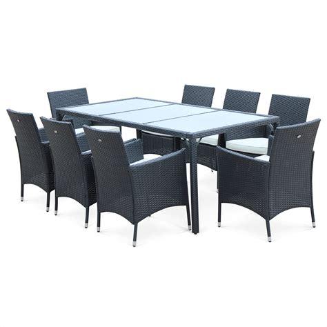 chaise en résine tressée best table de jardin resine tressee extensible pictures