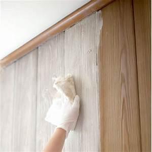 HOME DZINE How to whitewash knotty pine walls