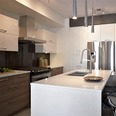 cuisine en m駘amine cuisines beauregard cuisine réalisation 300 thermoplastique mélamine et quartz
