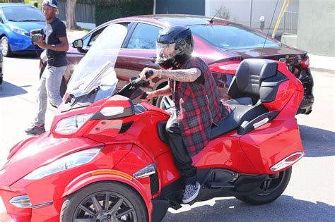 justin bieber illegally drives  wheel motorcycle