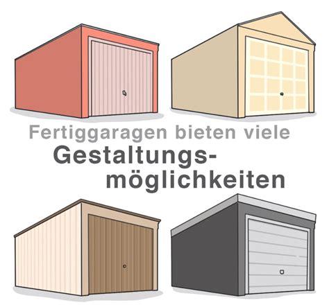 Fertiggarage Modelle Und Gestaltungsmoeglichkeiten by Fassadengestaltung F 252 R Fertiggaragen Garage Und Caport