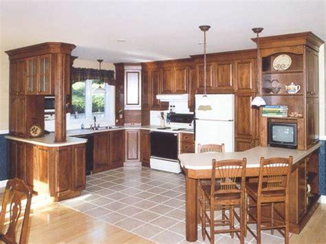 mod鑞e d armoire de cuisine modele de cuisine en bois massif mzaol com