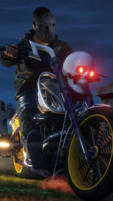 wallpaper gta   halloween dlc  games