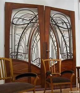 Art Nouveau Mobilier : hector guimard accessoire mobilier porte photo de 14 ~ Melissatoandfro.com Idées de Décoration