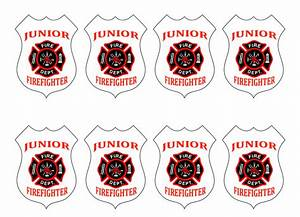 fireman badge template firefighter badges coloring pages