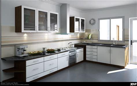 photo de cuisine design 3dvf com portfolio de filali mohamed filadsn