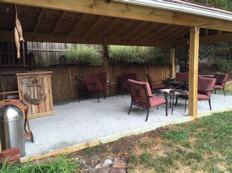 Hometalk  Backyard Tiki Bar