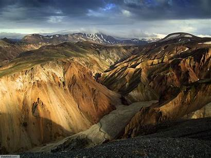 Mountains Mountain Brown Iceland Wallpapers Nature Webneel