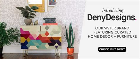 Society6 Home Decor :  Introducing Denydesigns