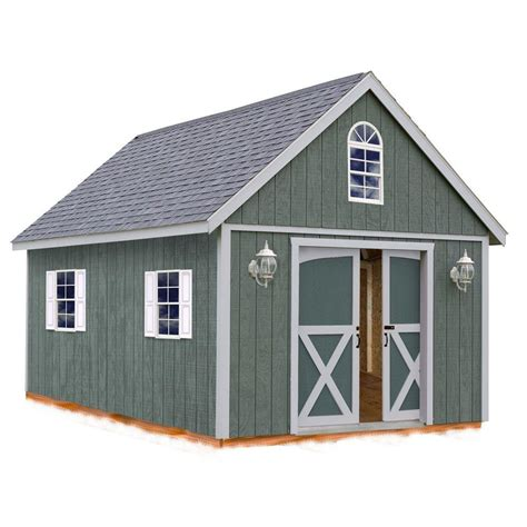 Storage Shed Kits Wood by Best Barns Belmont 12 Ft X 16 Ft Wood Storage Shed Kit