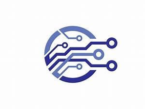 Electronic Chip Logo by Sergey Korkin - Dribbble