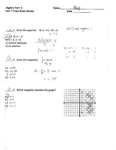Exponential And Logarithmic Equations Inequalities Worksheet 7 5 Answers Tessshebaylo