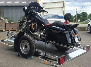 Location Plateau Moto : remorque porte moto harley davidson abaissable cochet marseille mp boat ~ Maxctalentgroup.com Avis de Voitures