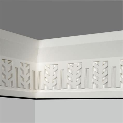 Polyurethane Decorative Wide Chair Rail Wall Trim Supplier
