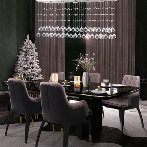 modern rectangular crystal chandelier lighting sofary