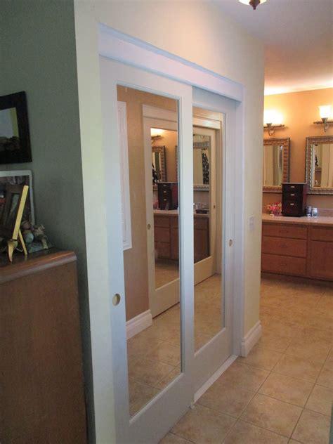 ovation mirror bypass sliding closet doors top hung