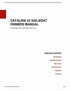 Wiring Diagram For Sailboat
