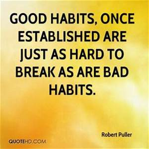 Quotes About Breaking Bad Habits. QuotesGram
