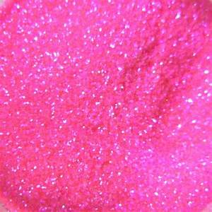 Image Gallery neon pink glitter