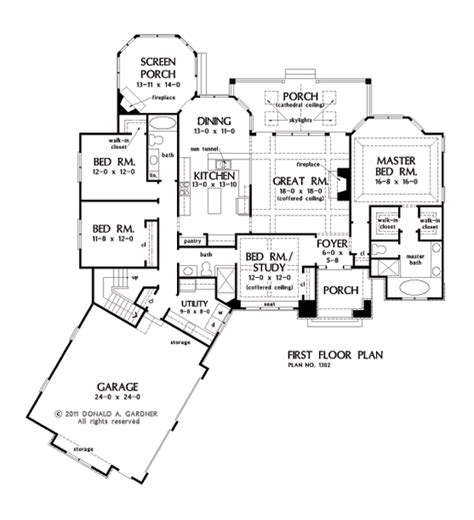open concept house plans one house plans with split master and open concept