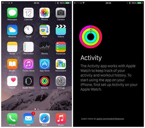 ios hidden activity app apple
