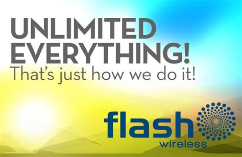 ACN News   Unlimited Everything Plans from Flash Wireless ...