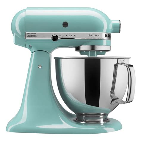 Kitchenaid Mixer Aqua Sky by Kitchenaid Ksm150psaq Aqua Sky Artisan Series 5 Qt