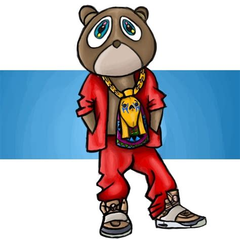 10 Latest Kanye West Bear Drawing Full Hd 1920×1080 For Pc