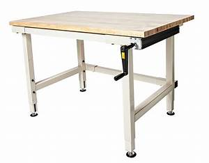 Adjustable Height Table - Workbenches - Industrial
