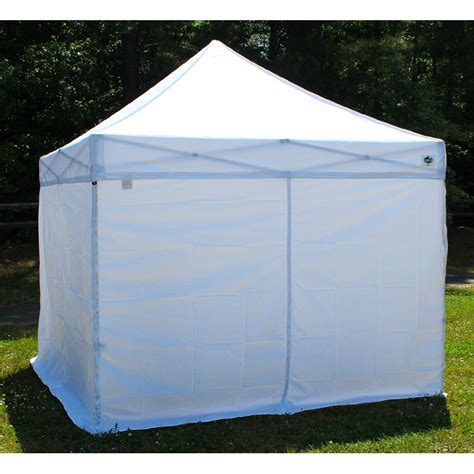 10 x 10 canopy with walls king canopy 10 x 10 ft 4 pk instant canopy side walls