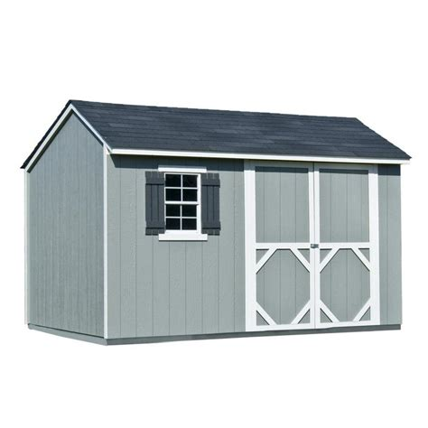 storage sheds lowes shop heartland common 12 ft x 8 ft interior dimensions