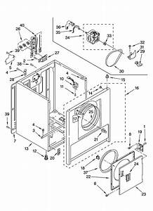 Cabinet Parts Diagram  U0026 Parts List For Model Red4100sq0