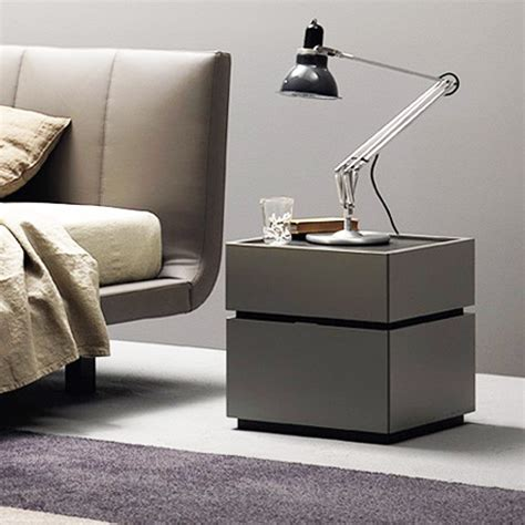 Como Designer Bedside Table Gloss Or Matt
