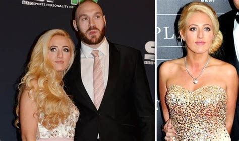 Tyson Fury wife: Who is Paris Fury? How long has she been ...