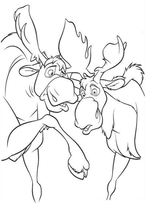 brother bear coloring pages coloringpagescom