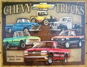 Garage Chevrolet : chevy tribute tin sign antique vtg pickup chevrolet metal garage wall decor 1747 ebay ~ Gottalentnigeria.com Avis de Voitures