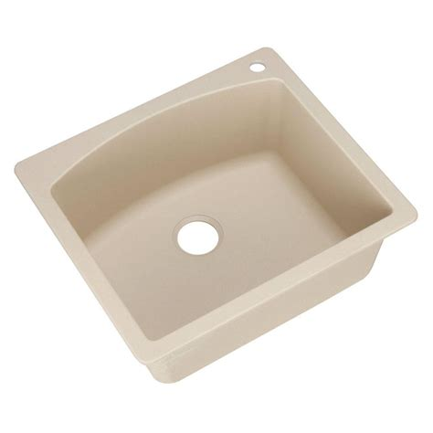 kitchen sinks composite blanco dual mount granite composite 25 in 1 2996