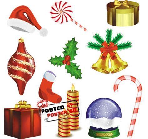 christmas decoration elements vector  vector