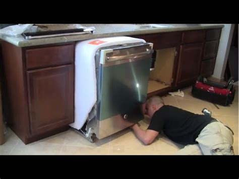 install a kitchen faucet how to install a dishwasher by 1 design