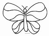 Butterfly Coloring Pages Pattern Odd Dr Zentangle sketch template