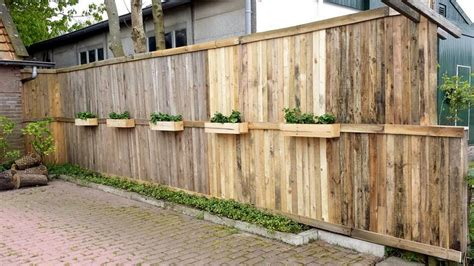 fence hanging planters 10 inspired pallet reusing ideas pallet wood projects