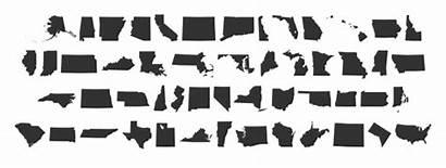State Shape States Font Shapes Printable Fonts