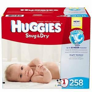 Amazon.com: Huggies Snug & Dry Diapers, Size 1, 258 Count ...