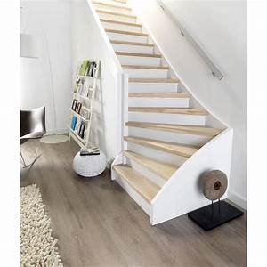 Habillage Escalier Interieur : claustra interieur en verre 16 habillage escalier bois ~ Premium-room.com Idées de Décoration