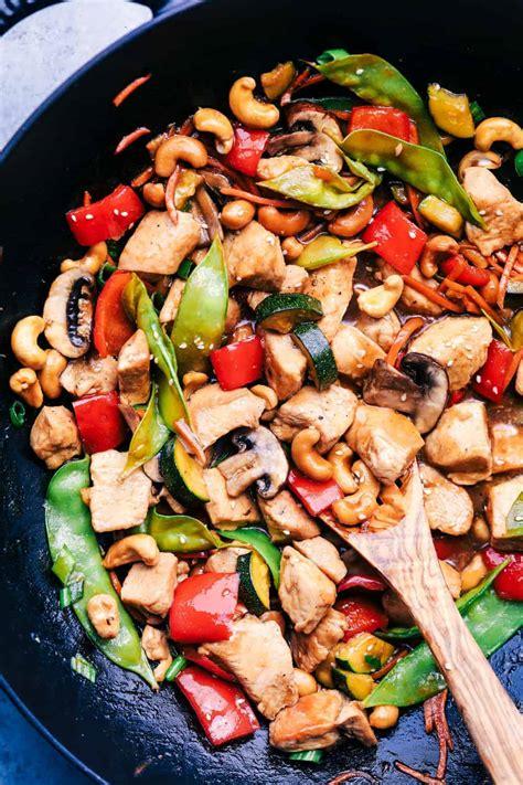 cashew chicken stir fry  recipe critic